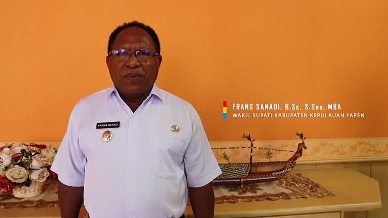 Ucapan HUT Kabupaten Kepulauan Yapen