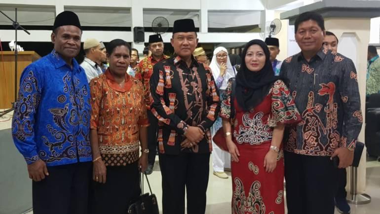 PELEPASAN JEMAAH CALON HAJI PROVINSI PAPUA TAHUN 2018