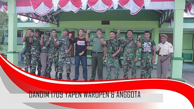 UCAPAN HUT NEGARA KESATUAN REPUBLIK INDONESIA KE-73 OLEH DANDIM 1709 YAPEN WAROPEN & ANGGOTA